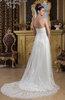 Sleeveless Bridal Gowns Open Back Modern Elegant Glamorous Western Formal