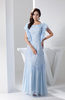 Lace Bridesmaid Dress Vintage Traditional Autumn Full Figure Pretty Winter