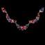 Engagement Drop Earrings Jewelry Sets Rhinestones Fashional