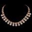 Gift Vintage Necklaces Luxurious Rhinestones Necklaces