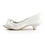 Average Pumps/Heels Graduation Girls' Peep Toe Satin Low Heel
