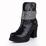 Girls' Wedding Shoes Fashion Boots Chunky Heel Average Casual Mid-Calf Boots