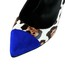 Leopard Print Wedding Shoes Average Party & Evening Stiletto Heel Patent Leather Girls'