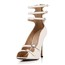 Opalescent Lacquers Sandals Booties/Ankle Boots Round Toe Stiletto Heel Dress Zipper