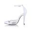 Split Joint Dance Shoes Stiletto Heel Women's Sandals Dance Plastics