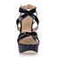 Party & Evening Platforms Round Toe Girls' Opalescent Lacquers Buckle Stiletto Heel