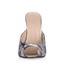 Average Slippers Stiletto Heel Graduation PU Women's Sandals