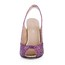 Women's Wedding Shoes Silk Like Satin Outdoor Peep Toe Average Sparkling Glitter