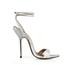 Women's Sandals Graduation PU Pointed Toe Average Buckle