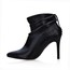Ruched Pumps/Heels Women's Wedding Booties/Ankle Boots Bootie Narrow