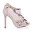 Party & Evening Sandals Average Women's Rhinestone Peep Toe Nylon