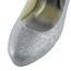 Party & Evening Platforms Sequined Cloth/Sparkling Glitter Round Toe Stiletto Heel Women's Sparkling Glitter