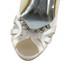 Girls' Wedding Shoes Satin Peep Toe Graduation Buckle Stiletto Heel