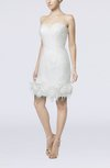 Modern Beach Sleeveless Backless Mini Flower Bridal Gowns