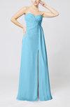Elegant Empire Sweetheart Sleeveless Zip up Prom Dresses
