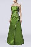 Classic A-line Sleeveless Backless Floor Length Wedding Guest Dresses