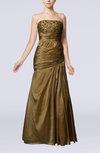 Elegant Sleeveless Lace up Floor Length Rhinestone Wedding Guest Dresses
