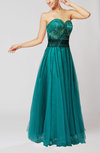 Informal Sweetheart Backless Floor Length Pleated Homecoming Dresses