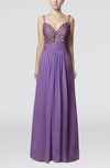 Elegant Spaghetti Backless Chiffon Floor Length Wedding Guest Dresses