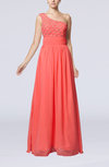 Romantic Column Sleeveless Chiffon Floor Length Sash Homecoming Dresses
