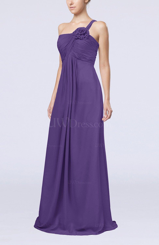 Dark Purple Bride Dress