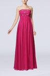 Elegant Empire Strapless Zipper Floor Length Sequin Evening Dresses