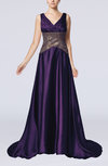 Elegant A-line V-neck Sleeveless Ruching Prom Dresses