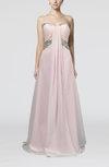 Elegant A-line Sweetheart Chiffon Beaded Evening Dresses