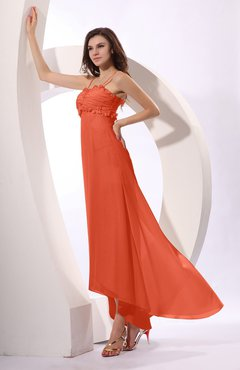 c958addcc78 Persimmon Sexy Spaghetti Sleeveless Zip up Ruching Evening Dresses