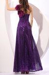 Gorgeous A-line One Shoulder Ankle Length Paillette Party Dresses