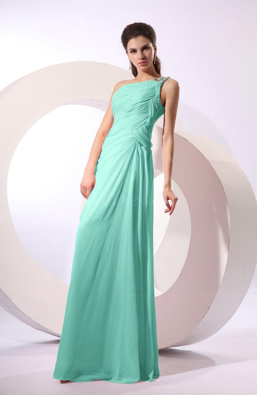 60d912741fe Seafoam Green Fairytale Sheath Zipper Floor Length Rhinestone. Seafoam  Green Bridesmaid Dresses. Seafoam green color bridesmaid dresses uwdress colsbm  jamie ...