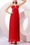 Gorgeous V-neck Sleeveless Chiffon Floor Length Homecoming Dresses
