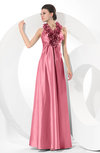 Simple Halter Sleeveless Taffeta Ruching Bridesmaid Dresses