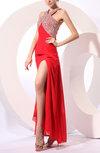 Glamorous V-neck Sleeveless Criss-cross Straps Floor Length Evening Dresses