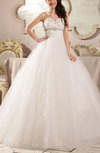 Fairytale Hall Ball Gown Sweetheart Sleeveless Lace up Floor Length Bridal Gowns