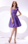Cute A-line Spaghetti Sleeveless Taffeta Short Wedding Guest Dresses
