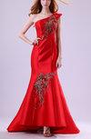 Luxury Mermaid Sleeveless Zip up Ankle Length Evening Dresses