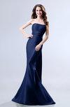 Elegant Mermaid Sleeveless Backless Court Train Evening Dresses