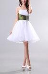 Fairytale Baby Doll Strapless Sleeveless Zipper Short Party Dresses