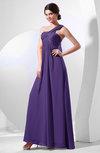 Elegant Empire One Shoulder Sleeveless Chiffon Bridesmaid Dresses