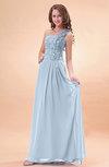 Modern A-line One Shoulder Zip up Chiffon Floor Length Bridesmaid Dresses