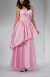Romantic Sheath Sweetheart Zipper Taffeta Evening Dresses