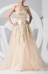Fairytale A-line Sweetheart Zipper Floor Length Prom Dresses