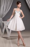 Casual A-line Sleeveless Zipper Ruching Party Dresses