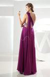 Modern One Shoulder Sleeveless Chiffon Beading Prom Dresses