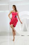 Sexy Sheath Sleeveless Mini Flower Club Dresses
