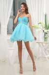 Casual Baby Doll Sweetheart Sleeveless Mini Cocktail Dresses