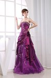 Cinderella Strapless Sleeveless Floor Length Ruching Prom Dresses