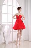 Casual A-line Sweetheart Sleeveless Backless Beaded Club Dresses