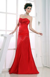 Modest Destination Strapless Sleeveless Zip up Floor Length Bridal Gowns